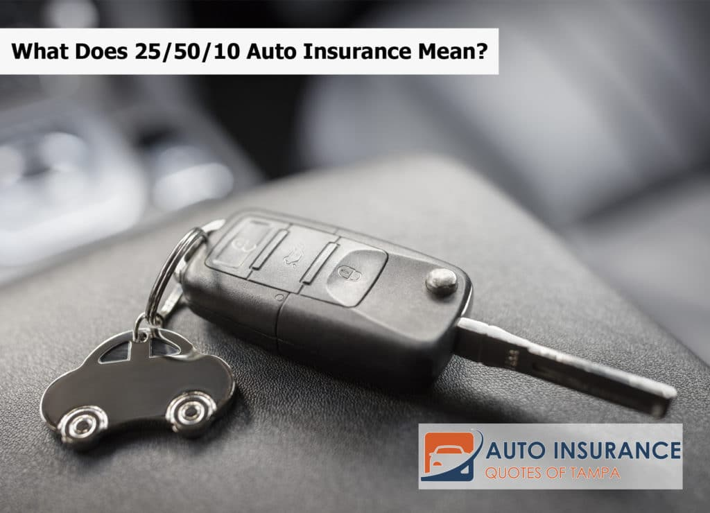 What Does 25/50/10 Auto Insurance Mean?