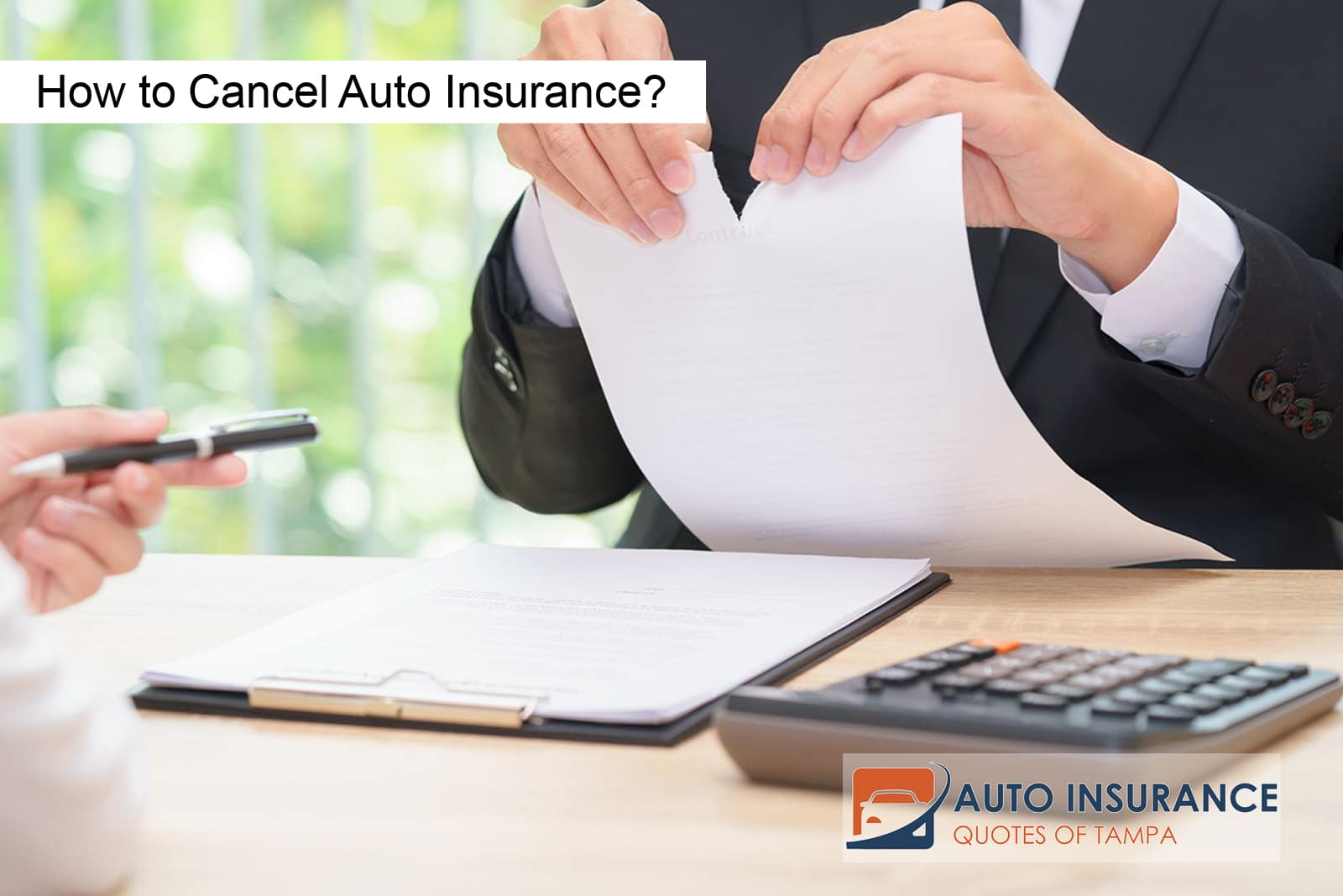 How to Cancel Auto Insurance?