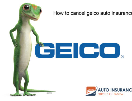 How to cancel geico auto insurance?