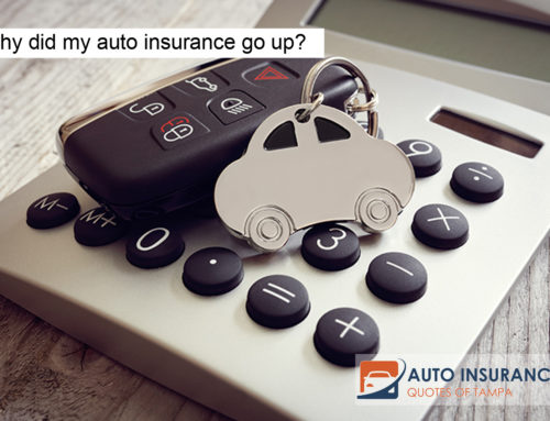 Why did my auto insurance go up?